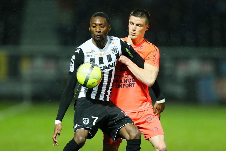 Karl Toko Ekambi, attaquant d'Angers SCO