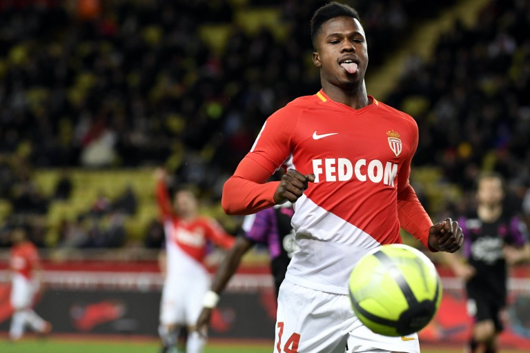 Keita Baldé, l'attaquant de l'AS Monaco