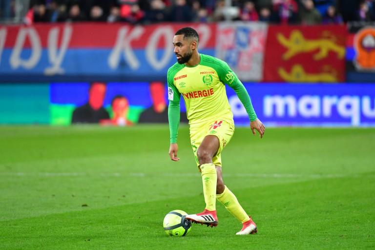 Koffi Djidji, défenseur du FC Nantes en prêt au FC Torino.