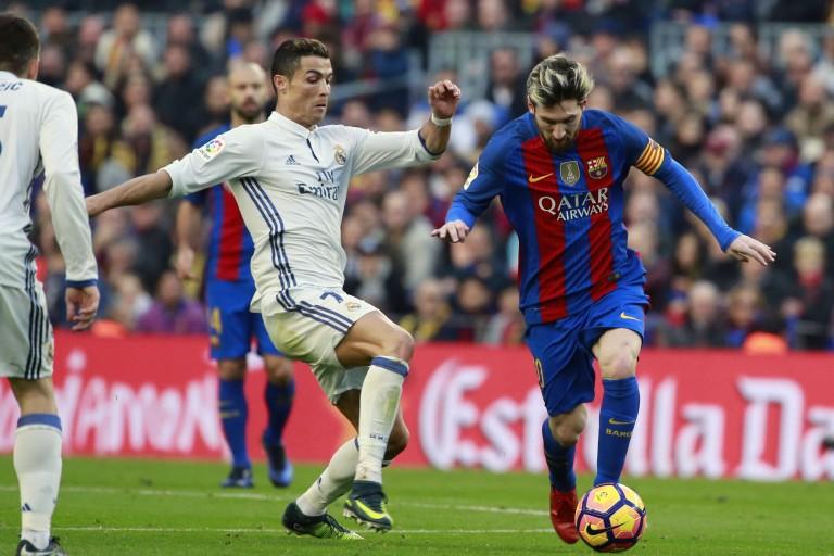 Cristiano Ronaldo moins talentueux que Lionel Messi.