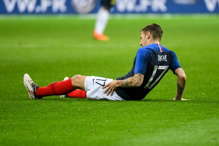 Lucas Digne forfait contre l'Islande