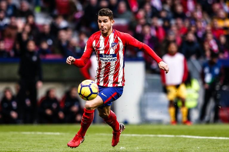 Lucas Hernandez, défenseur de l'atletico Madrid