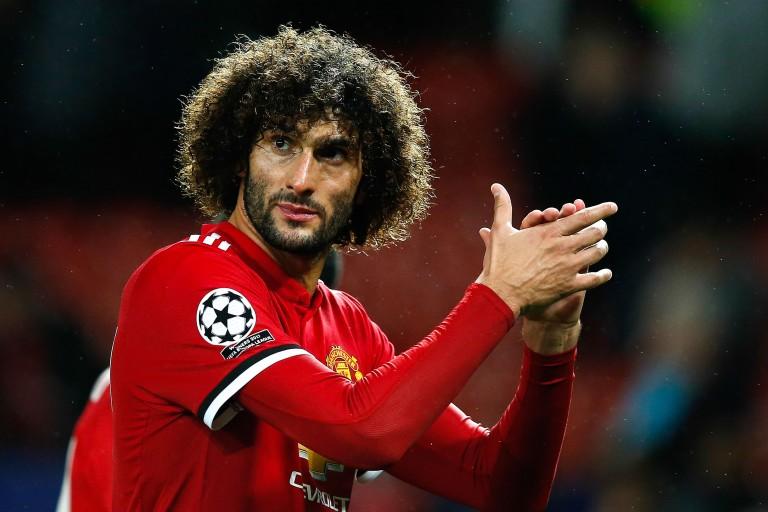 Marouane Fellaini, milieu de terrain belge en fin de contrat à Manchester United.