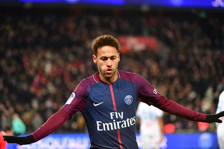 Neymar, attaquant brésilien du PSG.