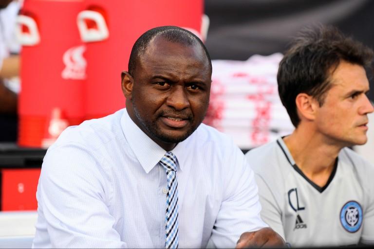 Patrick Vieira nouvel entraineur de l'OGC Nice.