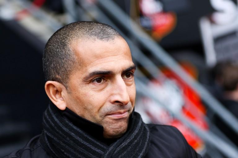 Sabri Lamouchi, ex-entraineur de Rennes et Manager de Nottingham.