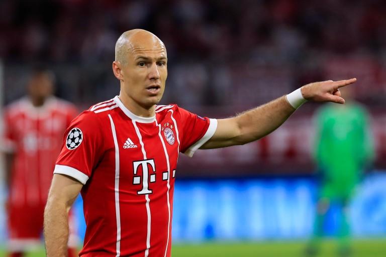 Arjen Robben, ailier droit au Bayern Munich.