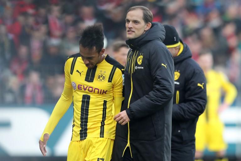 Pierre-Emerick Aubameyang a travaillé sous les ordres de Thomas Tuchel au Borussia Dortmund.