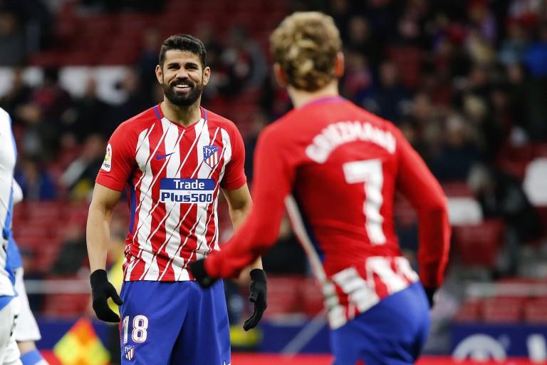 Diego Costa et Filipe Luis pressentis titulaires