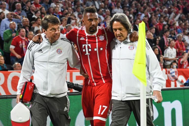 Jérôme Boateng absent jusqu'à six semaines.