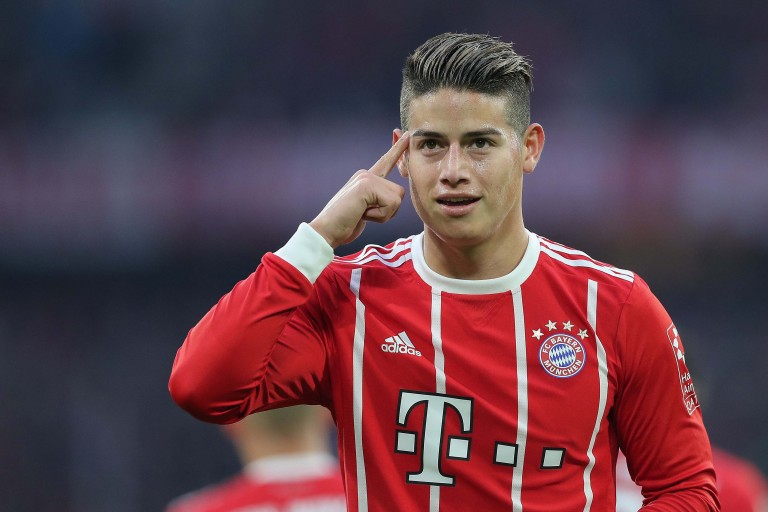 James Rodriguez, le Bayern Munich va patienter avant de lever son option d'achat.