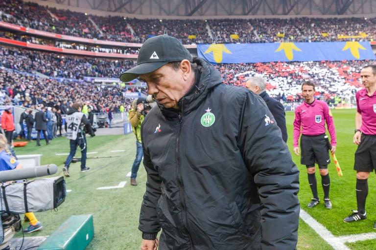 Jean-Louis Gasset, coach del'ASSE