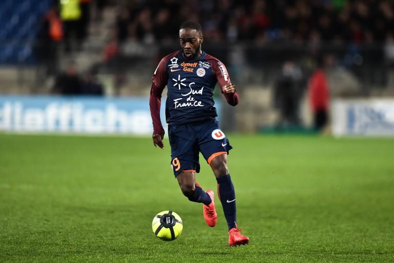 Jonathan Ikoné, ailier du PSG prêté depuis 2 saisons à Montpellier HSC.