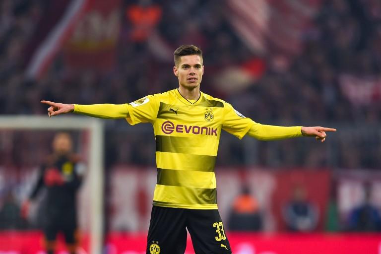 Julian Weigl, milieu de terrain du Borussia Dortmund.