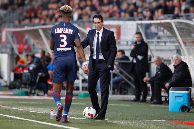 Presnel Kimpembe, défenseur central du PSG et de l'équipe de France.