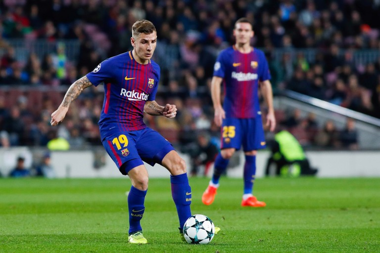 Lucas Digne a imploré le FC Barcelone de le laisser s'en aller à Everton