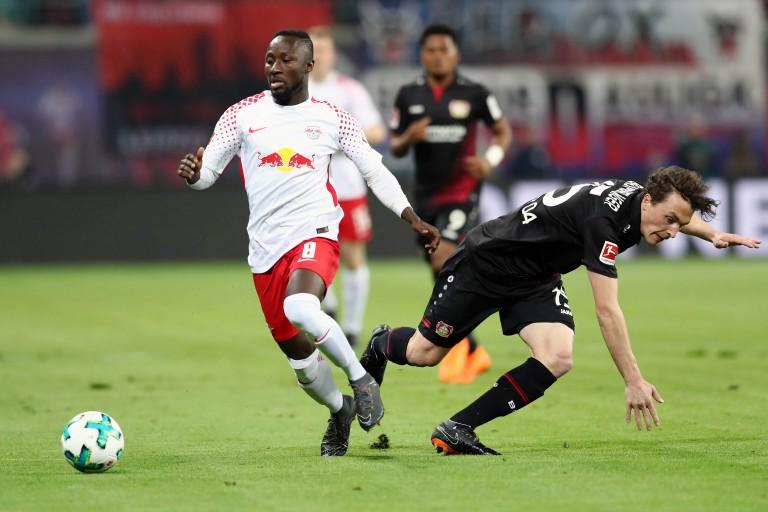 Naby Keita, milieu de terrain guinéen du RB Leipzig.