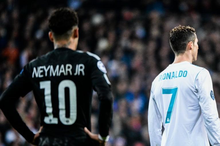 Neymar voudrait jouer avec Cristiano Ronaldo au Real Madrid.