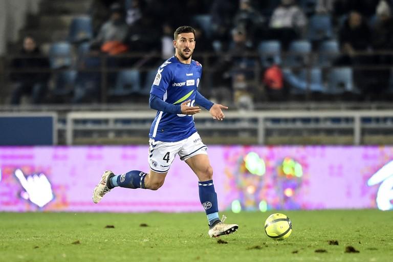 Pablo Martinez, défenseur du RC Strasbourg