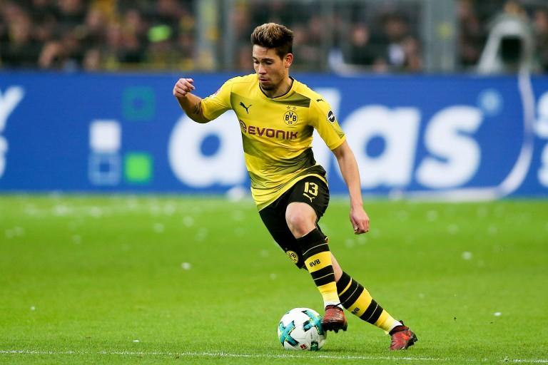 Raphaël Guerreiro, latéral gauche du Borussia Dortmund, annoncé au PSG.