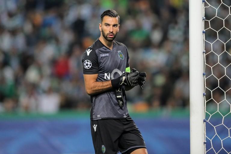 Rui Patricio, gardien de but portugais du Sporting Portugal, pisté par Antero Henrique.