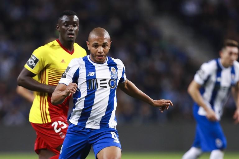Yacine Brahimi, ailier gauche du FC Porto.