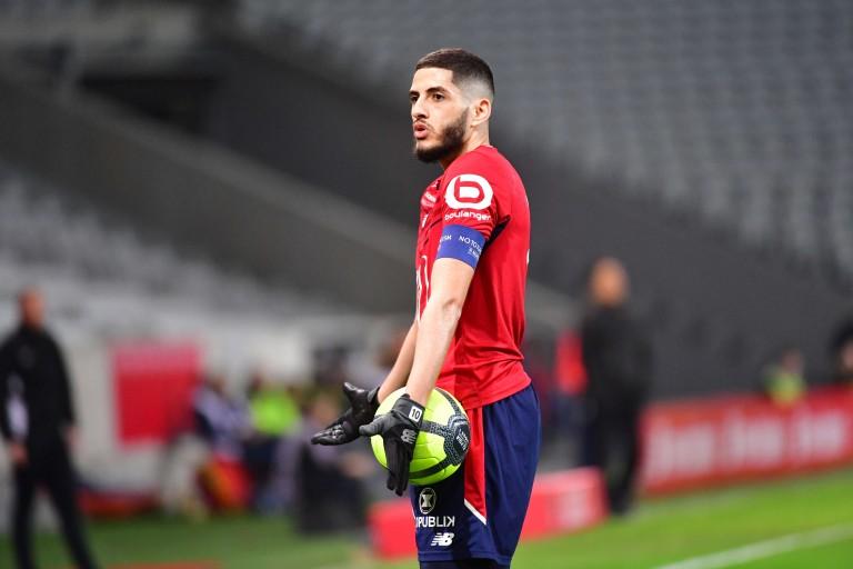 Yassine Benzia, milieu offensif du LOSC visé par le Dijon FCO.