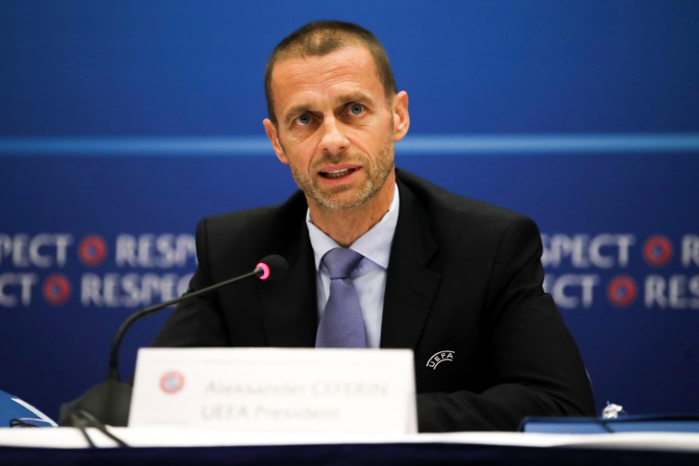 A cause du Coronavirus, Aleksander Ceferin contraint de changer le calendrier de l'UEFA