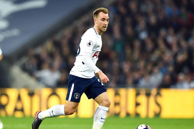 Christian Eriksen, milieu offensif danois de Tottenham.