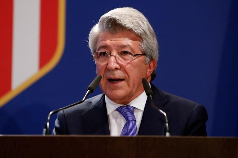 Enrique Cerezo propose que l'Atlético Madrid soit sacré
