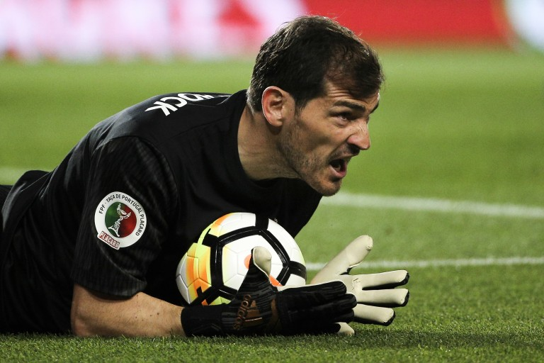 Iker Casillas va terminer sa carrière avec Porto FC.