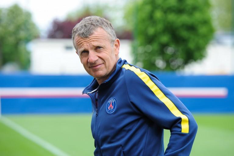 Patrice Lair, nouvel entraîneur de l' EA Guingamp.