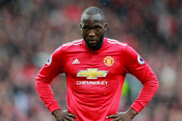 Romelu Lukaku, attaquant de Man United.