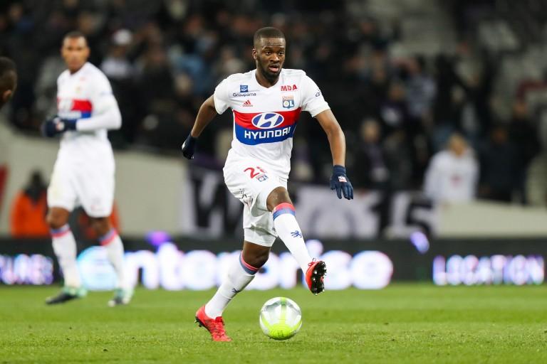 Tanguy Ndombele, milieu de terrain de l'OL convoqué par Didier Deschamps.