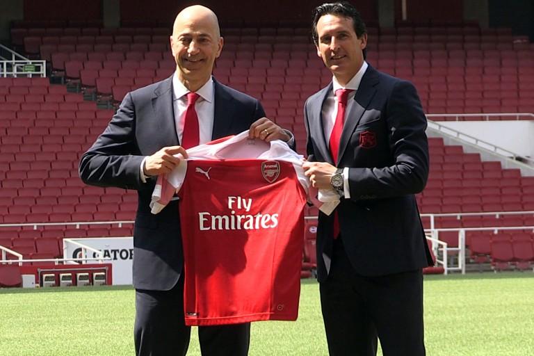 Unai Emery, nouvel entraîneur d'Arsenal.
