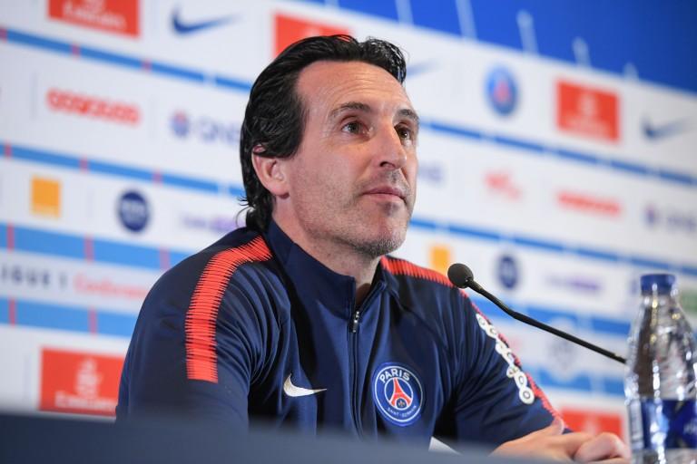 Unai Emery, entraîneur du PSG.