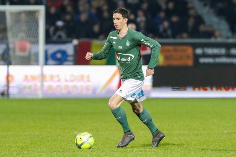 Vincent Pajot, ex-milieu de terrain de l'ASSE transféré à Angers.