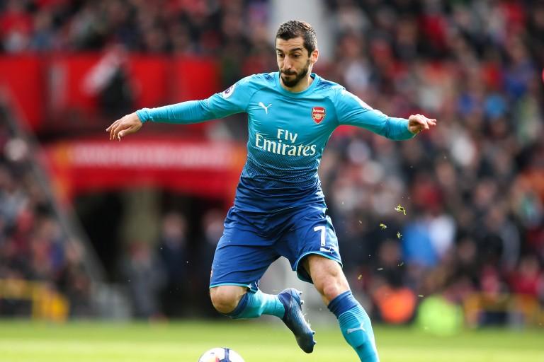 Le passage d'Henrikh Mkhitaryan à Arsenal aura été contrasté