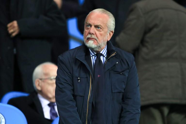 De Laurentiis ne veut pas jouer à Barcelone — Naples