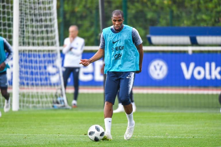 Djibril Sidibé, défenseur de l'AS Monaco prêté à Everton