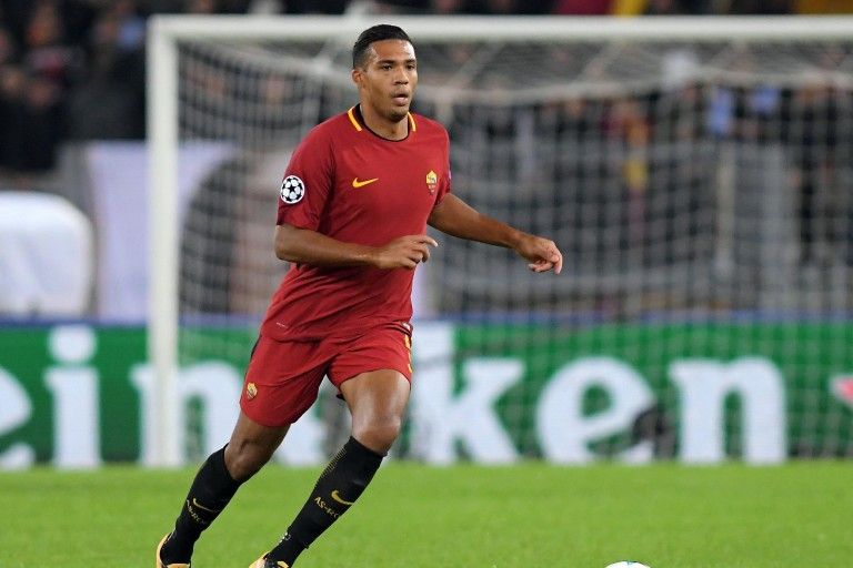 Juan Jesus, défenseur central à l'AS Rome.