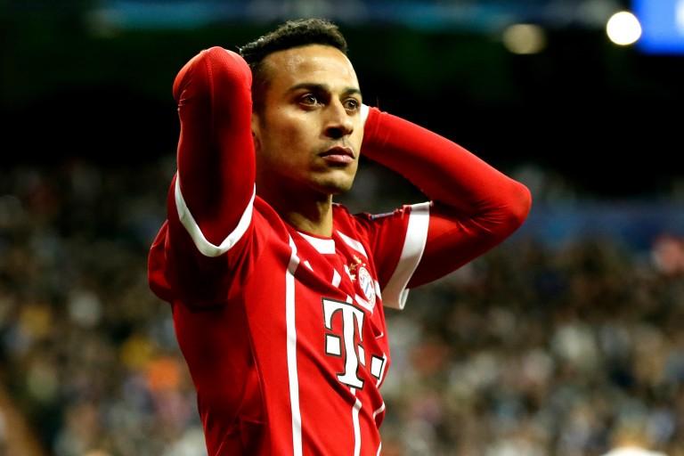 Thiago Alcantara déclaré forfait pour le choc entre le Borussia et le Bayern