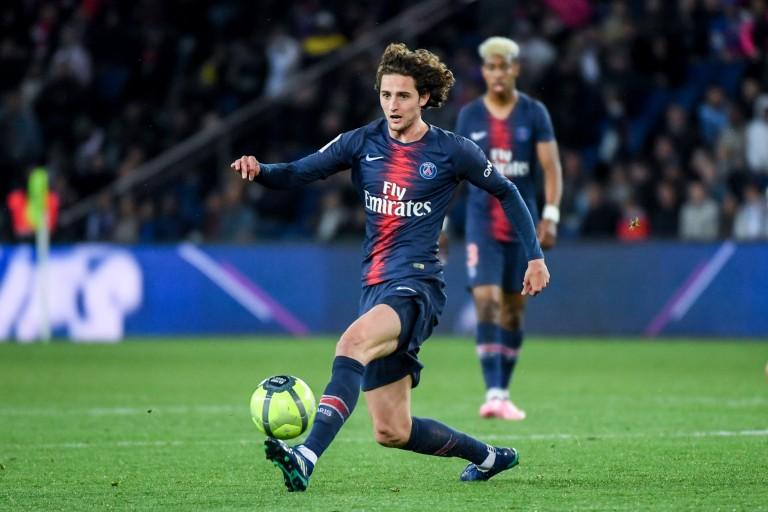 Adrien Rabiot, milieu de terrain français du PSG.