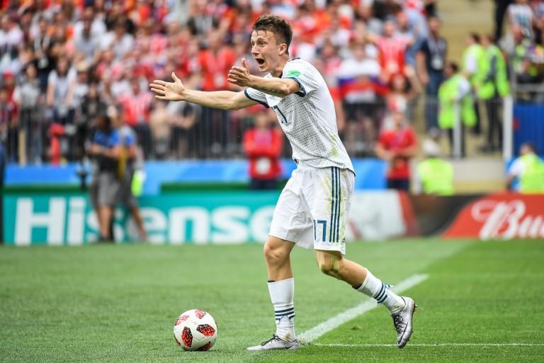 Le FC Barcelone en embuscade pour  Aleksandr Golovin.
