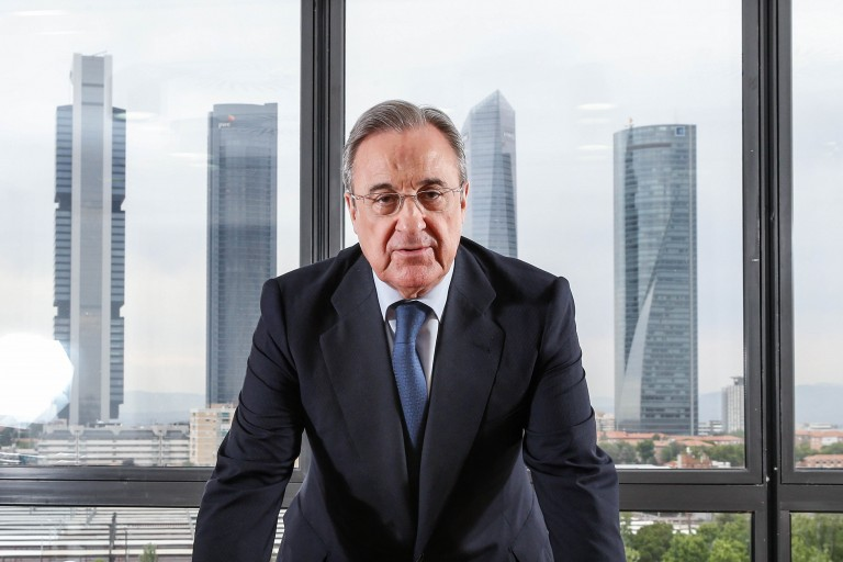 Florentino Pérez annonce de grands changements.