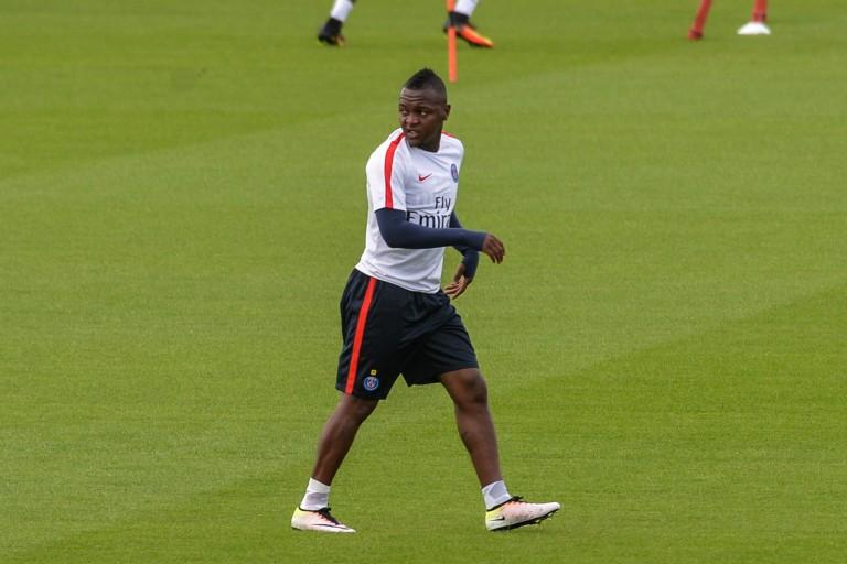 Hervin Ongenda ancien attaquant du PSG.