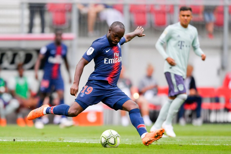 Lassana Diarra, milieu de terrain du PSG.