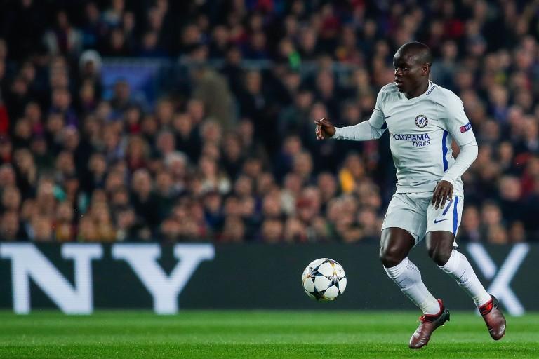 N'Golo Kanté, milieu de terrain français de Chelsea FC.