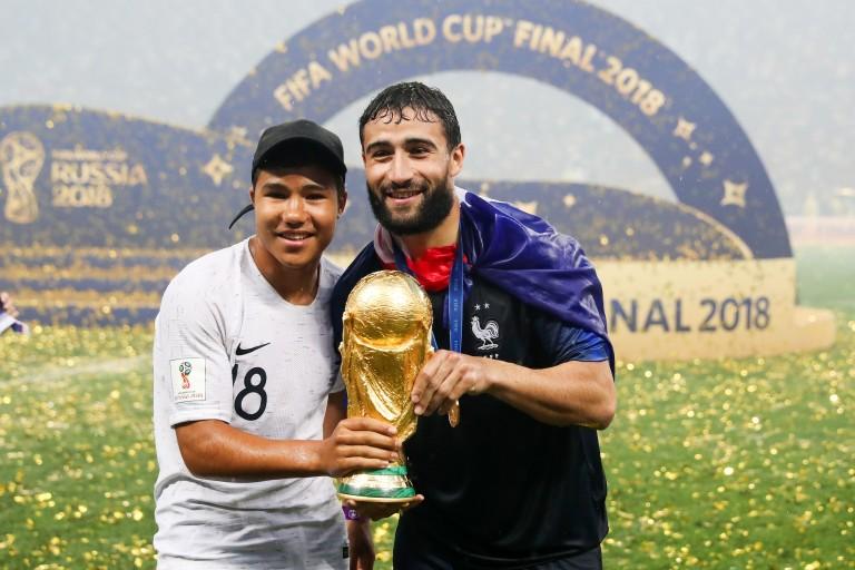 L'OL va rendre hommage à Nabil Fekir Champion du monde 2018.