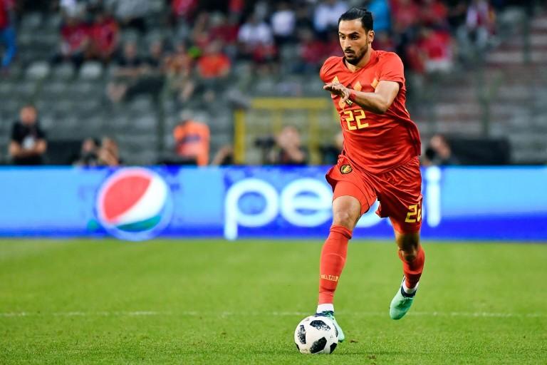 Nacer Chadli, milieu offensif belge recruté par l'AS Monaco.